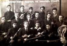 The First Armenian Jazz Band, Yerevan, 1936