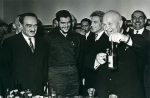 Mikoyan, Khrushchev, and Che Guevara