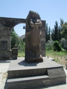 Paramaz monument in Meghri