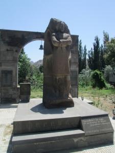 Paramaz monument in Meghri