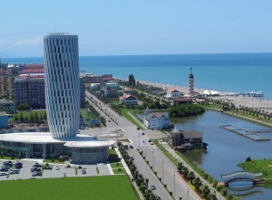 Modern architecture in Batumi