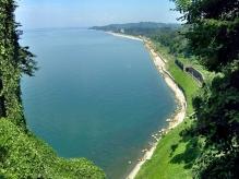 Batumi coast