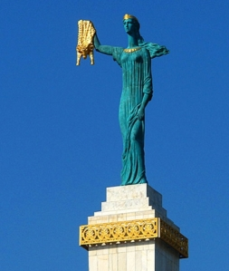 Golden Fleece Statue, Batumi