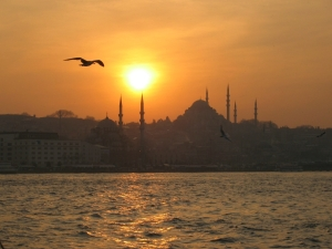 Istanbul sunset (Flickr)