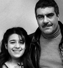 Dovlatov and daughter Katya